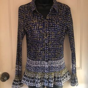 Christopher & Banks button up blouse